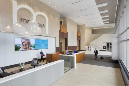 maurices headquarters lobby