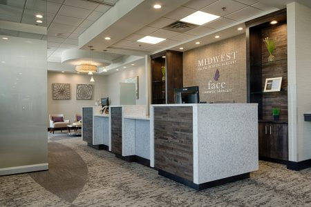 Midwest ENT - Lobby with Movable Partition