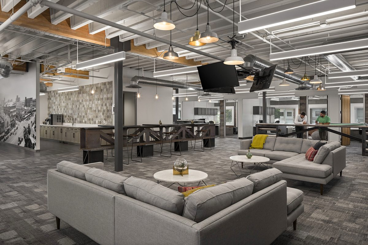 Wentworth Property Headquarters Lobby Image